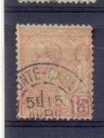 Monaco 1891, Minr 15 Vfu. Cv 9 Euro - Monaco