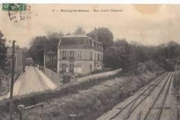 92 BOURG La REINE  Ligne De CHEMIN De FER Au PONT Beaux PAVILLONS Rue André Theuriet - Bourg La Reine