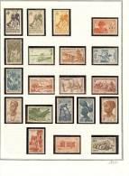 AOF Collections Neufs Et Oblitérés