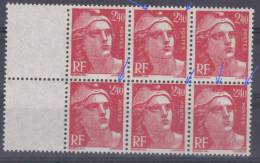FRANCE VARIETE  N° YVERT  714 TYPE  GANDON NEUFS LUXE - Abarten: 1945-49 Ungebraucht