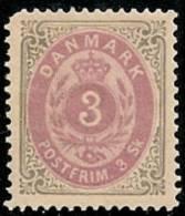 DINAMARCA 1870 - Yvert #17 - MLH * - Nuovi