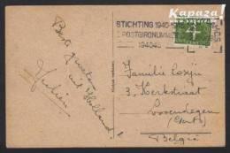 1946 - NEDERLAND - Card + SG 639 + AMSTERDAM O.S. - Periode 1891-1948 (Wilhelmina)