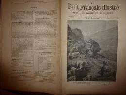 1896 Le Petit Français Illustré : Réclamme Bicyclettes JE LIVRE UNE MACHINE  ET UN COSTUME DE CYCLISTE GRATUITEMENT. - Bücher, Zeitschriften, Comics