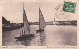 CPA 76  St-VALERY-en-CAUX ,rentrée De Bateaux De Plaisance Au Port. - Saint Valery En Caux