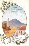 THEMES - FETES - With St. Patrick's Day Greetings - Saint-Patrick