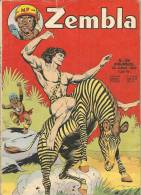 Zembla N° 159 - Editions LUG à Lyon - Juillet 1972 - Avec Aussi Dan Tempête Et Rakar - BE - Zembla