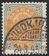 DINAMARCA 1875/903 - Yvert #29b (dentado 14) - VFU - Nuovi