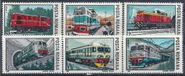 1987 ROUMANIE 3756-61**  Trains, Locomotives - Nuovi