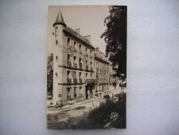 CP  63 LA BOURBOULE Hôtel Perriere Et De Londre Plein Centre Thermal 1951 - La Bourboule