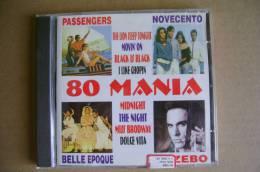 PBR/59 CD Orig.: 80 MANIA - Passengers - Novecento - Belle Epoque - Gazebo - Music & Instruments
