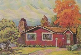 Apple Tree Folks Dinner House Restaurant Denver Colorado 1965 - Restaurants