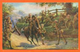 "Royaume-uni  ""  Ready To A Man   "" Soldats - Regiments"