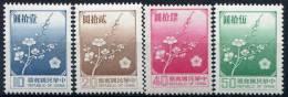 Taïwan                        1237/1239  **  Et  1552  **    Fleurs/flowers - 1945-... République De Chine