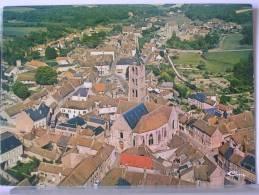 (77) - CHATEAU LANDON - VUE GENERALE AERIENNE - L' EGLISE - Chateau Landon