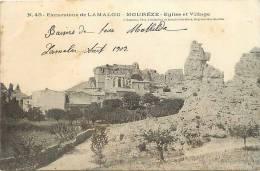 Depts Div -herault - Ref -455- Excursions De Lamalou -moureze - Eglise Et Village  - - France