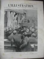 L'ILLUSTRATION 3308 PIECES PROCES DREYFUS/ SOUS MARINS/ IGUAZU/ ANARCHISTES/ NAGE PARIS  21 Juillet 1906 - L'Illustration