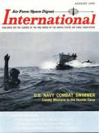 Air Force / Space Digest - INTERNATIONAL - August 1965 - Aviaion - Missiles - Espace - PARIS Air Show - GEMINI -  (3278) - Magazines & Papers