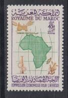 MAROC 1960.YVERT Nº 396.COMMISSION POUR L´AFRIQUE . NEUF AVEC CHARNIÈRE. COL.12 - Maroc (1956-...)