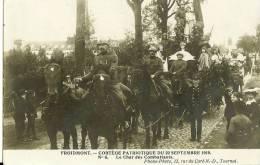 FROIDMONT - CORTEGE PATRIOTIQUE DU 22 SEPTEMBRE 1919 - N°10 - LE CHAR DES DEPORTES - Belgique