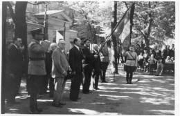 HELSINKI (Finlande) Ancienne Photographie Hommage Français Aux Morts Finlandais 1937 - Finlande