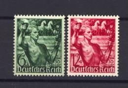 Allemagne  -  Reich  :  Mi  660-61  ** - Allemagne