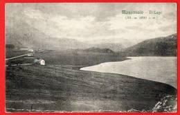 MONCENISIO -TORINO- IL LAGO-viaggiata 1921 - Italia