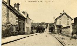 77- COULOMMIERS- Avenue Gastellier-peu Courante - Coulommiers