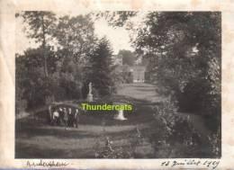 PHOTO OUDERGEM AUDERGHEM 1919 - Auderghem - Oudergem