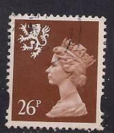 SCOTLAND GB 1996 26p Red Brown Machin STAMP SG S85. ( B235 ) - Regional Issues