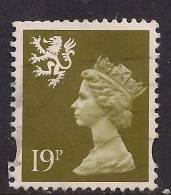 SCOTLAND GB 1993 - 98 19p Bistre Machin Centre Band SG 81.( X979 ) - Regional Issues