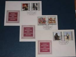 FDC DDR Ersttagsbrief Deutschland 1969 Staatliche Kunstsammlung Dresden Russische Und Sovjetische Maler Malerei Bild - [6] Democratic Republic