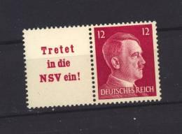 Allemagne  -  Reich  -  Se Tenant  :  Mi  W  157  **            ,     N2 - Zusammendrucke