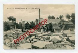 MAFFLE-Chantier De M.GAIN-BOUGARD-Tailleurs De PIERRE-Industrie-Metier-Commerce-BELGIQUE-BELGIEN- - Ath
