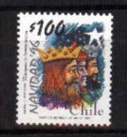 """Chile YT1406 ** """"Los Reyes Magos"""" (R. Inostrosa) - Natale"""