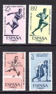 España 1962. Juegos Iberoamericanos. Ed 1450 / 1453. MNH. **. - 1961-70 Ungebraucht