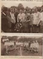 Extrait De Journal * 1921 * Football - MATCH STADE LOUVAIN C/ UKKEL SPORT * -  Uccle Gagne 3-0 - 1page - Football