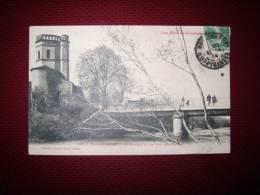Htes Pyrénées    Montbourget  Le Clocher Et Le Pont Sur L'adour - Maubourguet