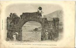 ALGERIE - Guelma - Announa (ancienne Tibilis) Arc De Triomphe Sur Le Forum   - Non Circuée - VRN - Guelma