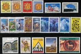 AD1192. ANDORRE / PRINCIPAT D´ANDORRA (2002) - Complete Year, Mint / Année Complet Neuf - Años Completos