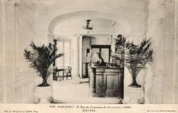 """PARIS    """" THE MARLBORO """"   24, Rue Des Capucines - Cafés, Hôtels, Restaurants"""