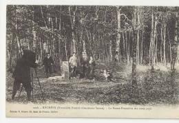 90 - Réchésy - Le Photografe Immortalise La Famille à La Borne Frontière Des Trois Pays...!!!!!!! - France