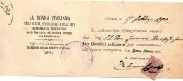 1890 LA DONNA ITALIANA NELLE SCIENZE, NELLE LETTERE E NELLE ARTI - DIZIONARIO BIOGRAFICO - Italia