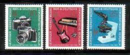 DDR 1130-1132  Postfrisch ** (16259) - [6] République Démocratique