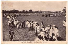 SOMALIA-AFGOI FESTA DELLE BASTONATE - POSTA MILITARE N.98 - 1935 - Somalia