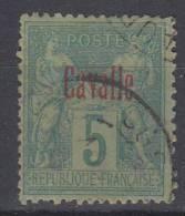 CAVALLE 1893 YVERT Nº 1. OBLITERÉ . .COL 21 - Cavalle (1893-1911)