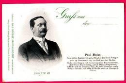 PC5907 UB Postcard: DGJ: Singer Paul Bulss - Opera