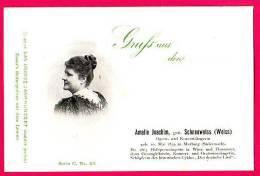 PC5938 UB Postcard: DGJ: German Singer Amalie Joachim - Opera