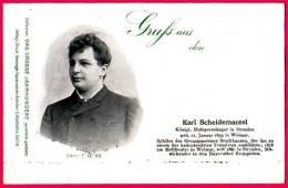 PC5968 UB Postcard: DGJ: Opera Singer Karl Scheidemantel - Opera