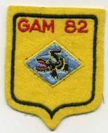 ECUSSONS GAM 82 TAHITI  PAPEETE - Escudos En Tela