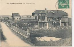 14 // SAINT AUBIN SUR MER   Le Chemin De La Mer   Edit Gentel - Saint Aubin